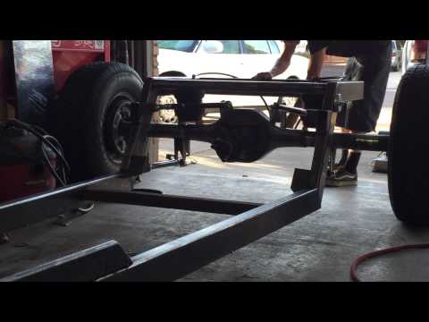 1931 Chevy hot rod frame build air ride