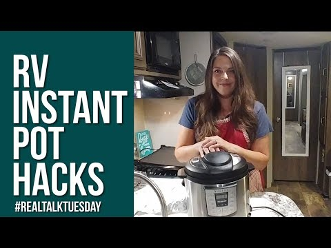 RV INSTANT POT HACKS // How To Cook In An RV // Full Time RV
