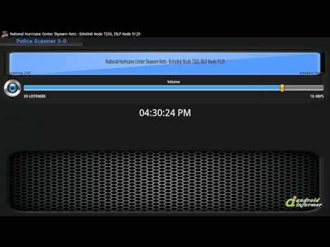 Gameplay video of Police Scanner 5-0 (FREE)