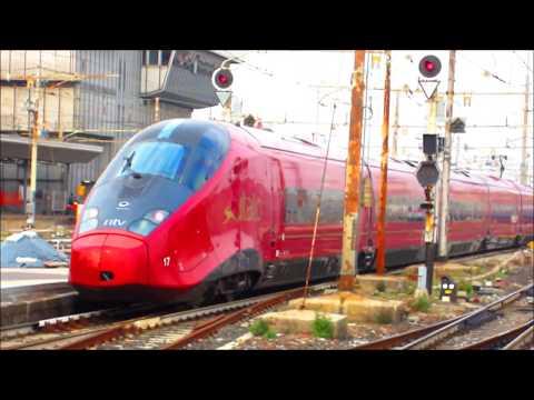 .italo, Nuovo Frecciarossa 1000. EuroCity etr 610 a Milano Centrale