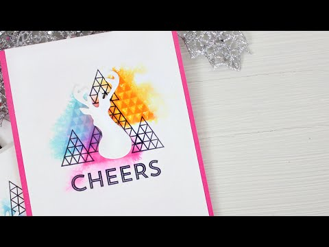 Watercolor Stamping: Easy Mass Production