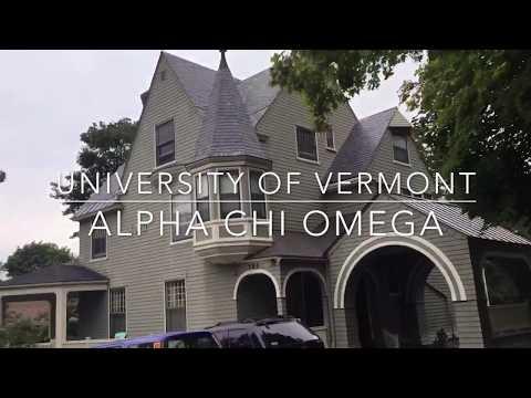 University of Vermont Alpha Chi Omega Recruitment 2017