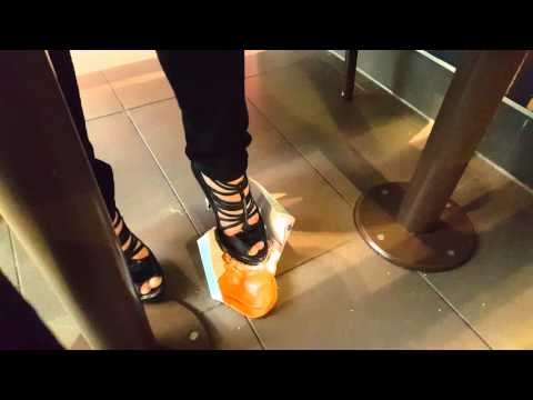 Mc Donalds fishfilet crush in high heels thumbnail