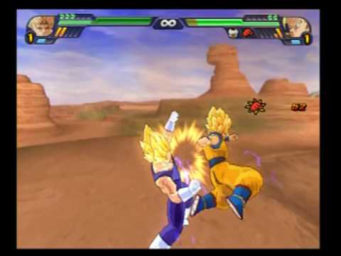 Dragon Ball Z Budokai Tenkaichi 3 Goku Ssj2 Vs Vegeta