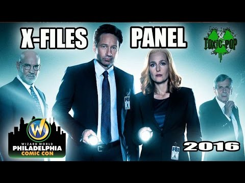 X-Files Panel at Wizard World Philly 2016