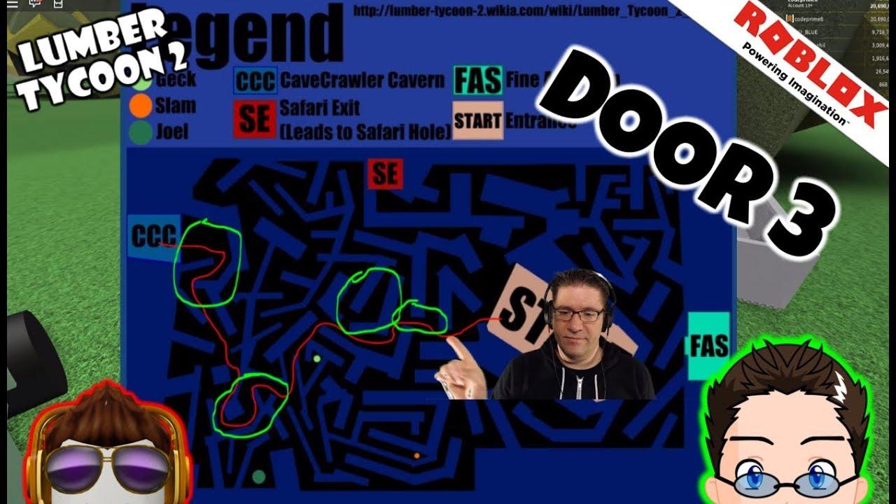 Roblox Lumber Tycoon 2 Cave Maze Door 3 Speed Run Course