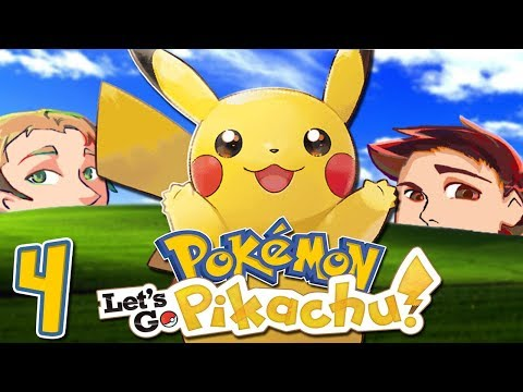 Pokemon Let's Go Pikachu - Soaking Wet Girl Fight - EPISODE 4 - Friends Without Benefits