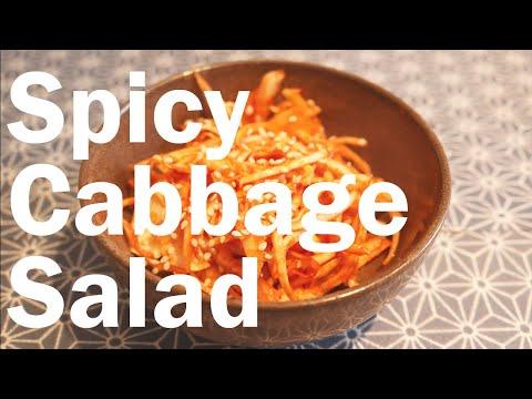 Simple Spicy Cabbage Salad | Flavor Lab