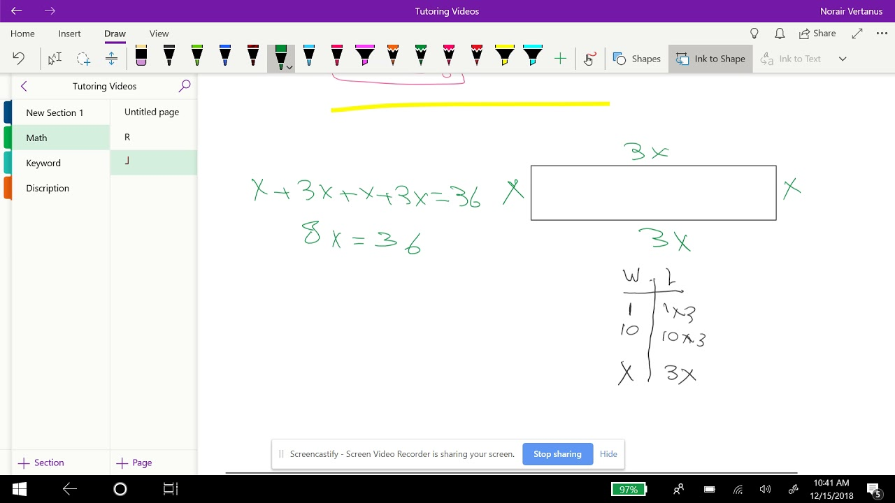 Integrated Math 2: Core Connection Homework: Perimeter of ...