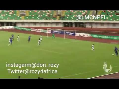 NPFL :Nigeria professional football league best goals for 2015/2016 season by Ashley Robert david