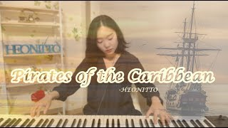 [Pirates of the Caribbean - He's a Pirate piano 편곡] - HEONITTO