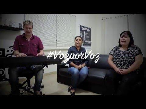 Voz por Voz-A Ele a Glória-Diante do Trono