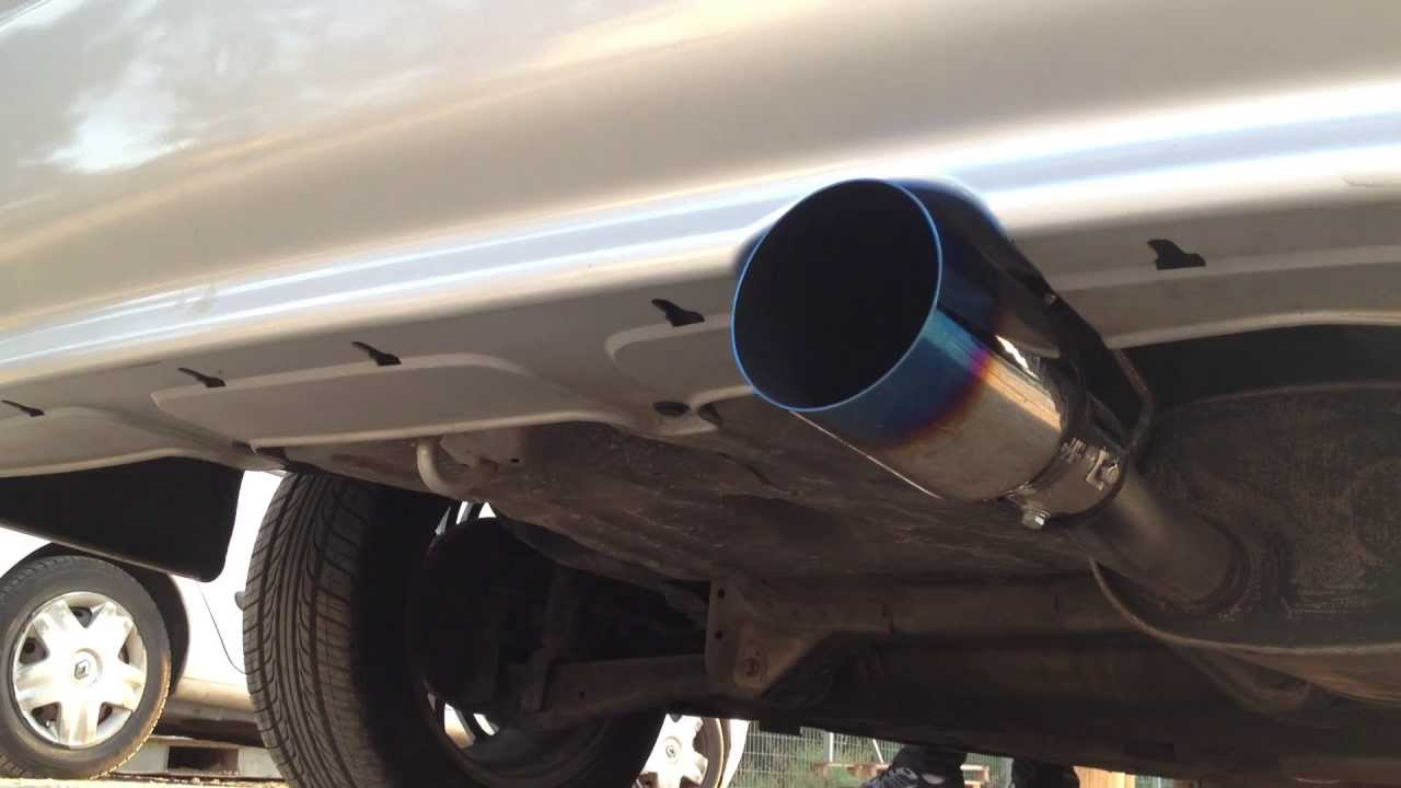 Universal Car Hks 98mm Inlet Hks Exhaust Pipe Muffler