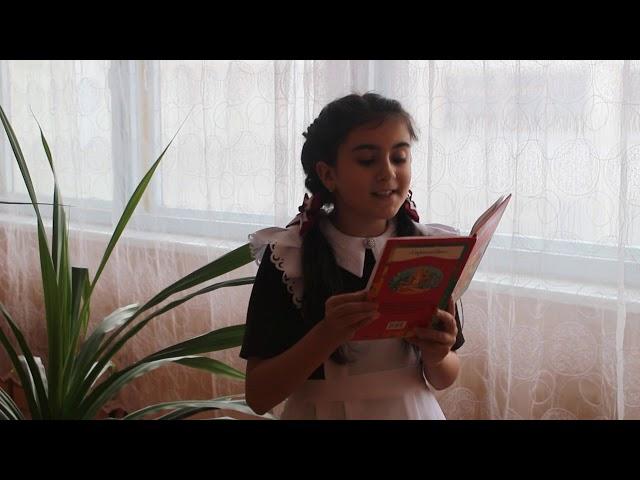 Изображение предпросмотра прочтения – СабинаДжафарова читает произведение «Цветик-семицветик.» В.П.Катаева