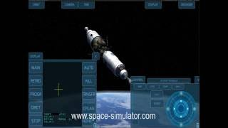 Space Simulator SLS Docking (beginner)