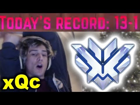 xQc 13-1 PUSH TO THE TOP (Duo with Moxy)