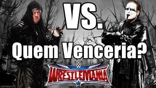 Undertaker VS. Sting - Quem Venceria?