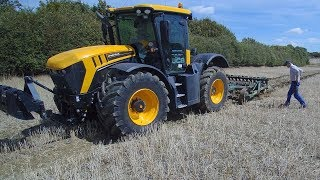 JCB FASTRAC POWER! BUT CAN it CULTIVATE?