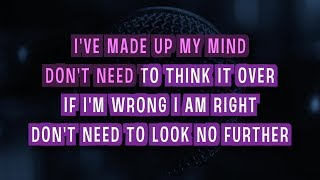 Chasing Pavements (Karaoke Version) - Glee Cast | TracksPlanet