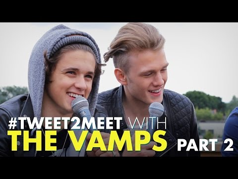 The Vamps Like Which Fifth Harmony Member!? (& Connor Walks In Heels)
