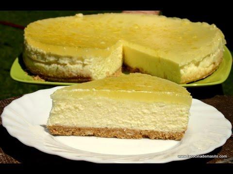 Tarta de limón | Muy FACIL ( Lemon cheescake)