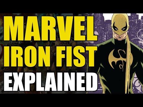 Marvel Comics: Iron Fist/Danny Rand Explained