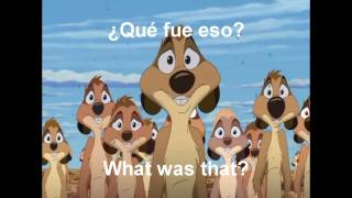 The Lion King 1 1/2 - Digga Tunnah (Eur. Spanish) w/subs & trans