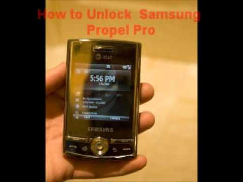 Samsung Propel Pro Unlock Code - Free Instructions