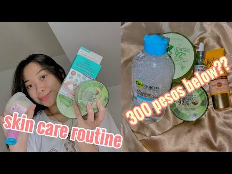 AFFORDABLE SKIN CARE ROUTINE 2020 (PHILIPPINES) 300 pesos below??   Romaine Cruz