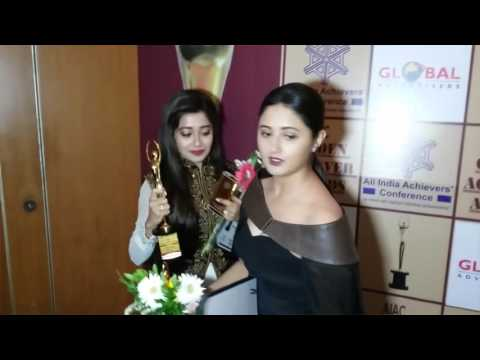 Uncut : Golden Achiever Awards 2016 | Tina Dutta , Rashmi Desai, Ravi Kishan And Many more