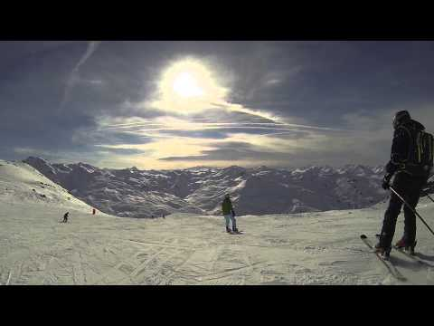 Our first trip to French Les Trois Vallées - three valleys