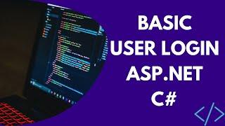 Basic User Login (ASP.NET)