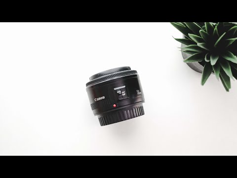Lensa Fix 50mm f1.8 II Review Video
