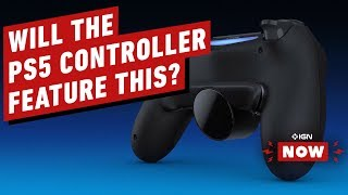New DualShock 4 Peripheral Hints at PS5 Controller - IGN Now