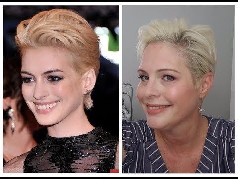 I Styled My Pixie Cut Like Anne Hathaway | Celebrity Pixie Cut Hair Styles