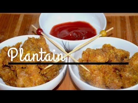 recette poulet pan croustillant chips de plantain youtube. Black Bedroom Furniture Sets. Home Design Ideas