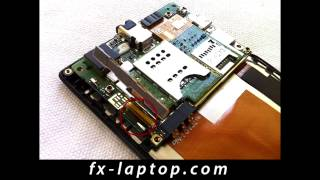 Disassembly Sony Xperia J ST26i - Battery Glass Screen Replacement