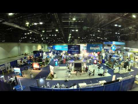 Time Lapse of Impinj's Booth at RFID Journal Live 2014
