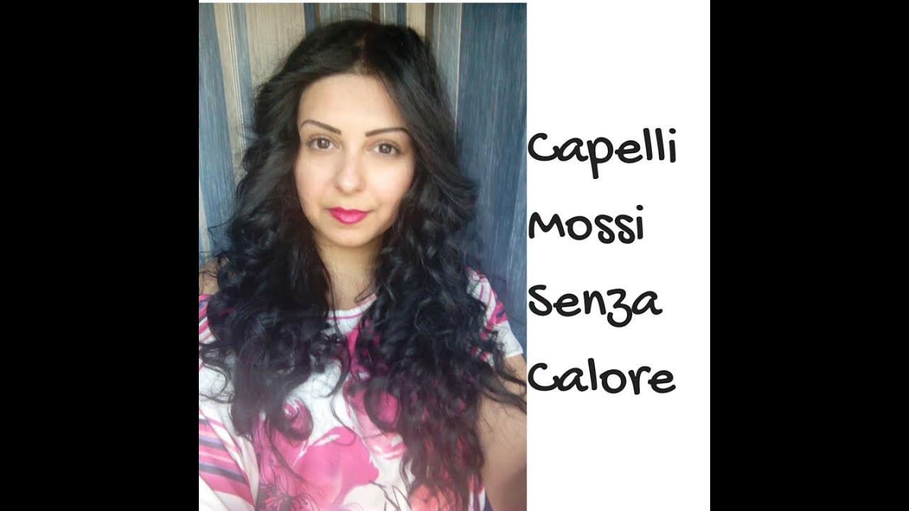 Famoso Capelli MOSSI tipo PERMANENTE SENZA CALORE | METODO DELLE 3 FASCE  GM75