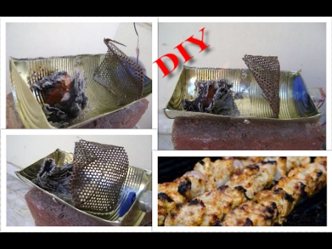 HOW TO MAKE A BARBEQUE AT HOME UNDER 5 MINS  | DIY|