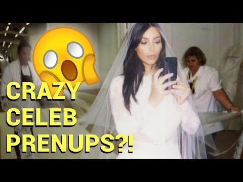 10 Crazy Celebrity Prenups