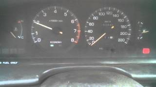 ДПДЗ глючит Toyota Carina 4AFE