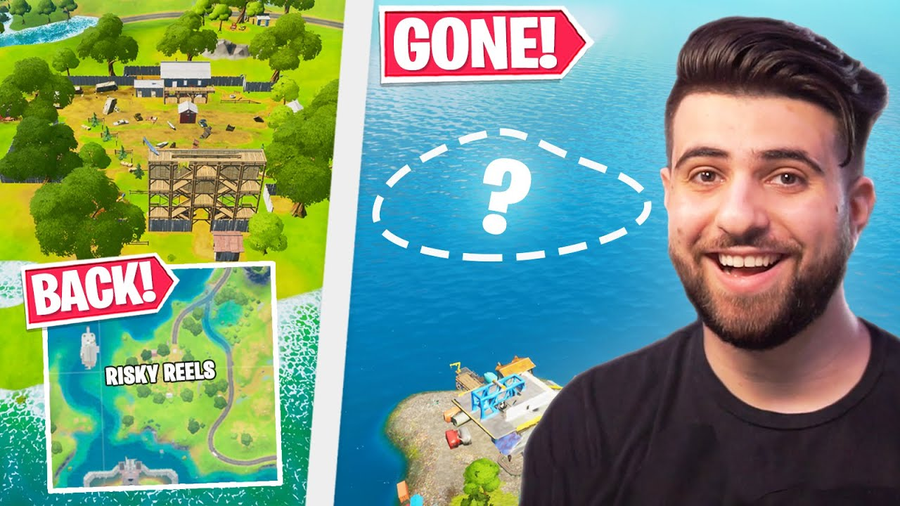 BIG Map Changes! (Risky Reels is BACK, Island Now GONE!) - Fortnite Season 3
