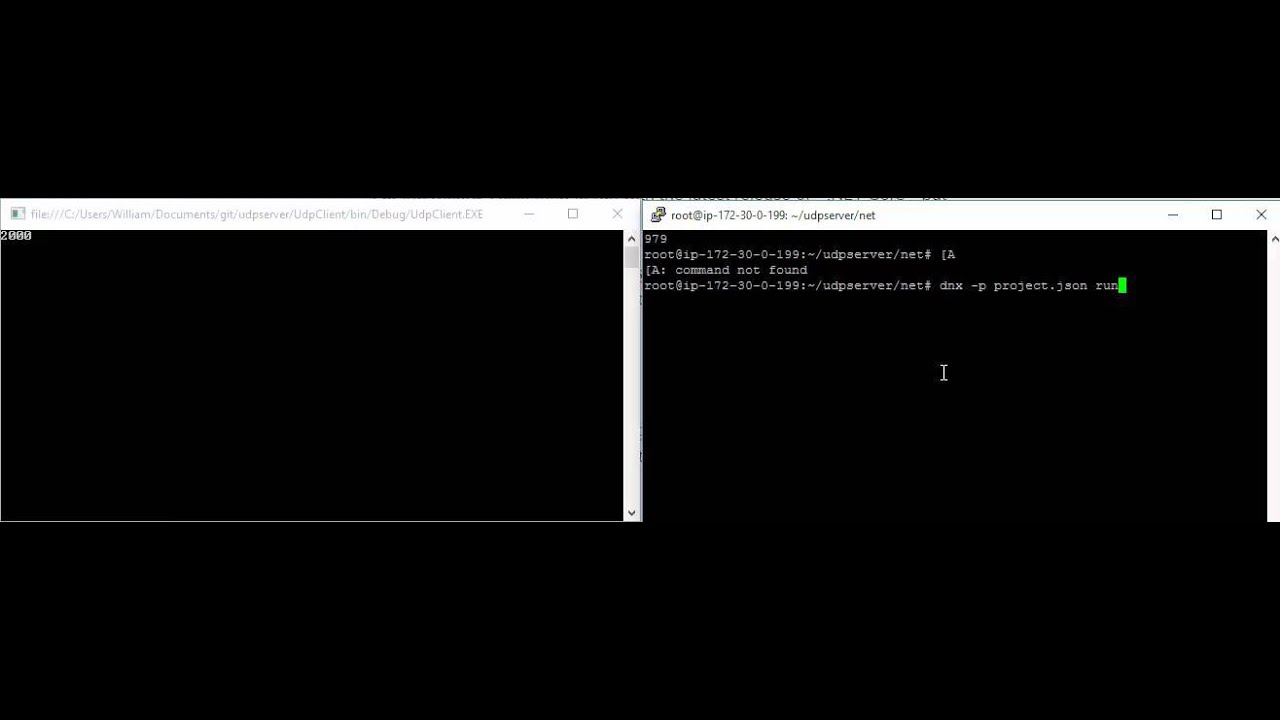 UDP Server Study Part 1