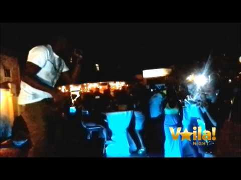 Kevin LYTTLE au Kwilu bar Kinshasa 4/1/2014.