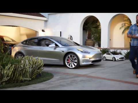 Tesla Model 3! - Exclusive Look!