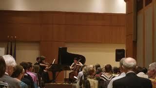 Liebermann Piano Trio No. 3