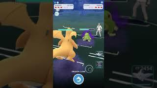 Double Dragon team I stole online destroys Pokémon Go Premier Cup. Go Battles #2