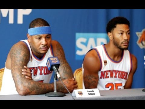 Carmelo Anthony Complains on NY Knicks Triangle Offense