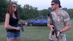 AK47 Vs. AR15 - CAR DOOR PENETRATION